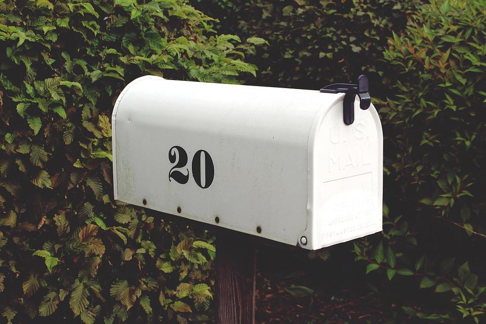 schránka, pošta